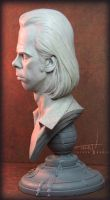 Nick Cave Bust 004 by TrevorGrove
