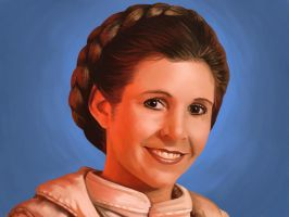 Princess Leia by antonio-panderas