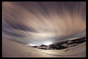 Gorce mountains by night by KarolP