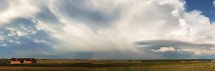Storm clouds over Suceava by BogdanEpure