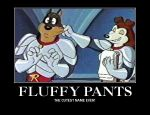 Fluffy Pants by desirefire1