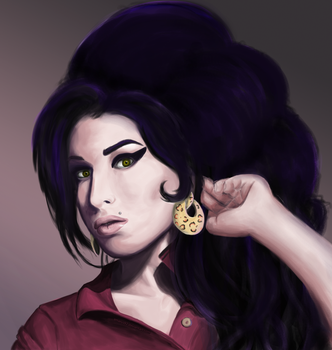 Amy Winehouse by amarus92