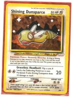 NEW Shining Dunsparce Card by icycatelf