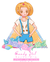 Candy girl by pearl7052