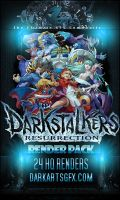 Darkstalkers Render pack by HACKSDENM3RK