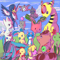 15 pokemon by emptyvoids