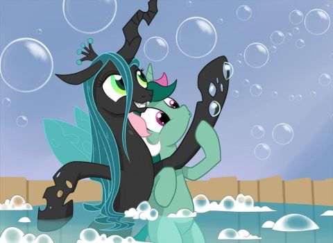Fizzy + Chrysalis by GSphere