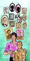BBC Sherlock: Genealogy by gabiiiiiii