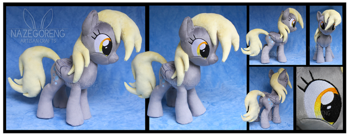 Derpy Hooves Custom Plush by Nazegoreng