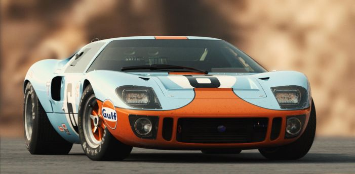 Ford GT40 (Film Series) by Laffonte
