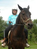 Me Horse Back Riding by SegaLover101