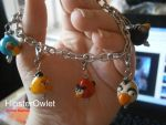 Angry Birds Charm Bracelet by HipsterOwlet