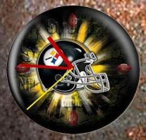 Steelers Clock 1.1 by JftArt