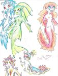 mermaid art dump 3 by Coraline-176