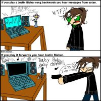 EVIL of Justin Bieber... by Diz-iz-Madnezz-XD