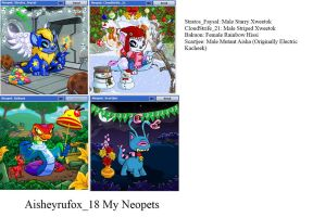 My Main Account Neopets by Aisheyru-Fox