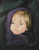 little darling my painting by cliford417