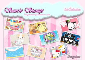 Sanrio Stamps - 1st Collection by DaisychanOrange