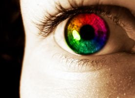 Rainbow Eye by LotsOfLowe