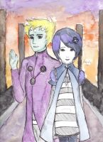 Querl and Salu by musicalist007