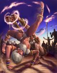 Elena vs. Dhalsim by judgefang