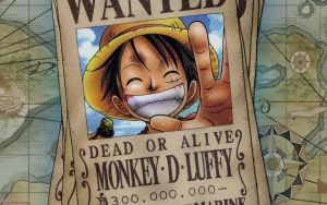 One Piece - Luffy Wanted by DharionDrahl