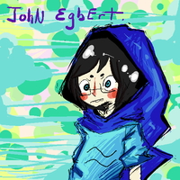 John Egbert sketch by Nauseatingly