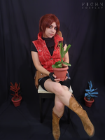 Claire Redfield cosplay - Memories of a lost city by VickyxRedfield