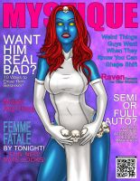 Mystique Cosmo Magazine Spoof by The-Great-Geraldo