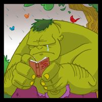 HULK reads by SURFACEART