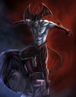 devilman alternate color by vic55b