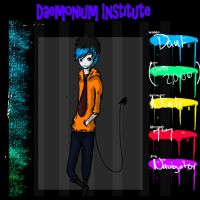 DaemoniumInstitute application thing for dant by crownedmutt