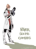 Never see me coming by alakotila