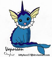 Vaporeon by kittyface27