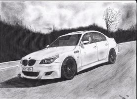 BMW M5 E60 by martinsnirc