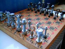 Steampunk Chess by aequinox