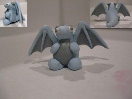 Blue and Silver Mini Dragon2 by drakeo1903