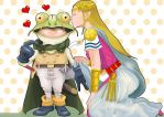 The Princess and the Frog by soletine