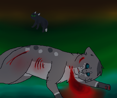 Ashfur's death (ASHFUR AMV IS DONE LINK IN DESC!!) by Hi-TuVy