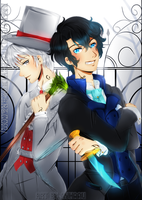 The Infernal Devices: Will and Jem by nyharu