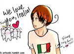 To Italy fans! by Katya-Arlovski