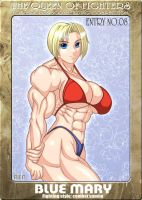 Ms KOF Entry No.08 Blue mary by RENtb