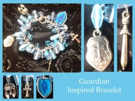 Guildwars 2 guardian inspired bracelet by Idlewings
