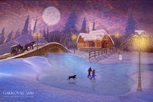 WINTER MAGIC by vanesagarkova