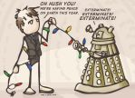 A Very Dalek Christmas by queen-of-the-dorks