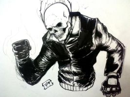 Ghost Rider by Vvendetta77