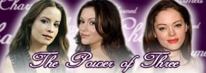 Purple Charmed Sisters Banner by clarearies13
