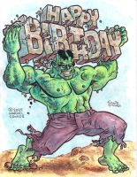 Hulk: Happy Birthday by EJJS