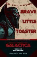 BSG- Brave Little Toaster by Artemekiia