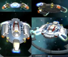 USS Defiant in Spore by Silent-Valiance